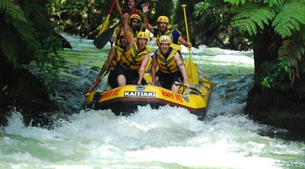 White water rafting Cairns
